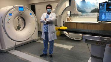 Paul Desclée, chef du service Radiologie de l'hôpital Jolimont