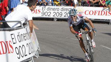 Philippe Gilbert sur les routes de la Vuelta