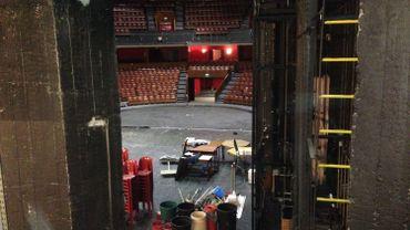 Le Cirque Royal, vu depuis les coulisses