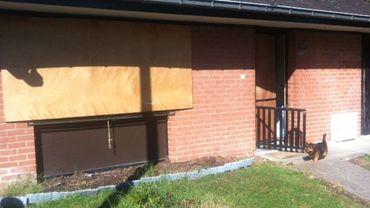 Les habitants du quartier Sentinelle disent être obligés de masquer leurs fenêtres de panneaux de bois pour éviter les bris de vitres ou les intrusions