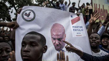 Elections en RDC: 120 partisans de Martin Fayulu arrêtés
