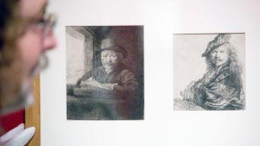 """""""Autoportraits"""" de Rembrandt"""