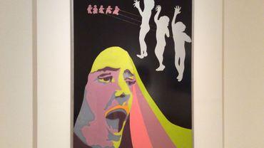 Evelyn Axell dans l'expo Pop Art in Belgium