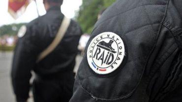 Des policiers du RAID le 12 juin 2010 à Bièvres