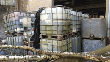 Evacuation de produits chimiques dangereux à Chaudfontaine