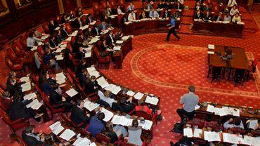 """""""La Droite"""" entend bien avoir des élus aux prochaines élections fédérale (ici le Sénat)"""