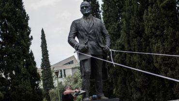 La statue de Truman à Athènes