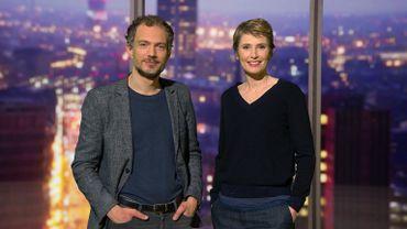 Vincent Message et Caroline Veyt