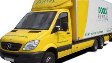 Dockx est spécialisé dans la location de camions et camionnettes.