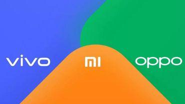 Oppo, Xiaomi et Vivo s'associent pour faciliter le partage de fichiers