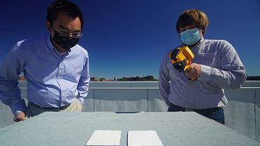 Les chercheurs de l'université de Purdue ont mis au point une peinture qui réfléchit les rayons du soleil jusqu'à 95,5%.