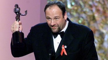 """James Gandolfini a été récompensé pour son interprétation de Tony Soprano dans la série """"Les Soprano"""" qui va faire l'objet d'une adaptation au cinéma."""