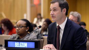 A. De Croo souligne l'importance de la numérisation pour le financement du développement