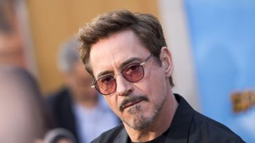 Robert Downey Junior interprète Iron Man dans la saga