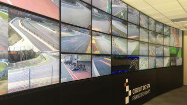 le nouveau mur d'écrans du Race Control