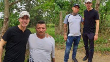 Venezuela: les très gênantes photos de Guaidó en compagnie des narco-paramilitaires colombiens