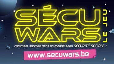 La Presque star : Virginie Delvaux pour le jeu Sécu Wars