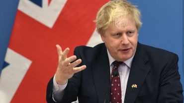 Le ministre anglais des Affaires étrangères, Boris Johnson