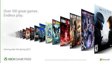 Xbox Game Pass sera accessible à partir du 1er juin, 2017