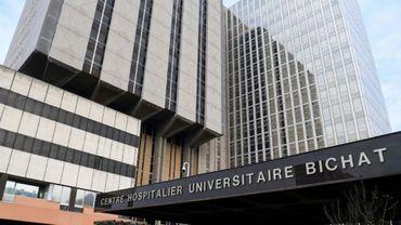 L'hôpital Bichat à Paris, le 25 janvier 2020
