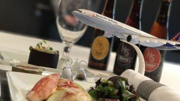 Les recettes seront préparées par les équipes de Brussels Airlines avec la supervision de Stéphanie Thunus.