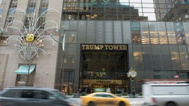 La Trump Tower à New-York, le 8 janvier 2018