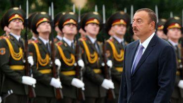 Le président de l'Azerbaïdjan Ilham Aliev