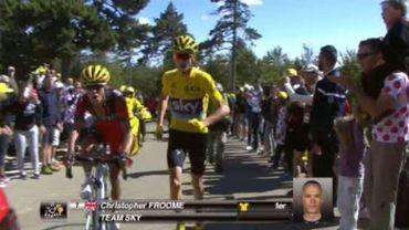 Où est mon vélo? L'hommage d'Albert Delchambre à Chris Froome
