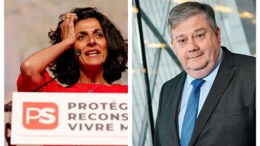 Les socialistes francophones Marie Arena et Marc Tarabella