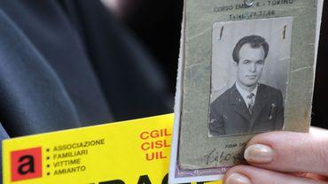 Une victime de l'amiante en Italie
