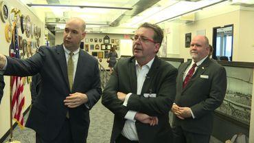 Le ministre président bruxellois visite une unité spéciale du FBI en charge de la lutte contre le terrorisme