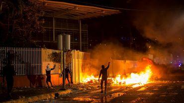 Violences de militants anti-chlordécone le 13 janvier 2020 à Fort-de-France
