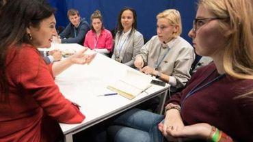 Des jeunes Belges présents à Madrid pour faire entendre leur voix