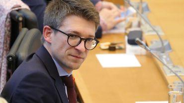 Le précédent ministre des Pouvoirs locaux, Pierre-Yves Dermagne.