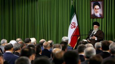L'ayatollah Khamenei recevait à Téhéran, ce dimanche 1er novembre, les diplomates iraniens en poste à l'étranger.