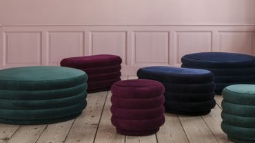 La nouvelle collection Ferm Living met à l'honneur le rouge bordeaux.
