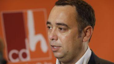 Pour Maxime Prévot, pas question d'affirmer que le cdH quitte la majorité wallonne.