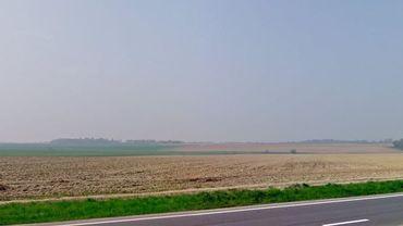 Le paysage de la route du Condrotz va sensiblement évoluer