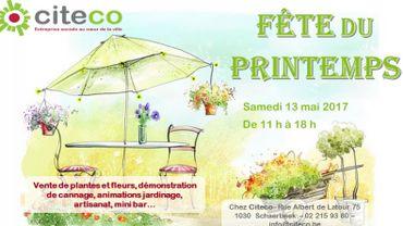L'entreprise Citeco, fête le printemps .