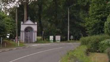 L'accident s'est produit dans le virage proche de la place de Bourgogne Estaimbourg