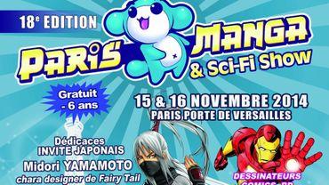 Paris Manga & Sci-Fi Show se tiendra les 15 et 16 novembre
