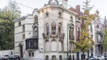 L'hôtel Hannon à Saint-Gilles, seule réalisation Art nouveau de l'architecte Jules Brunfaut