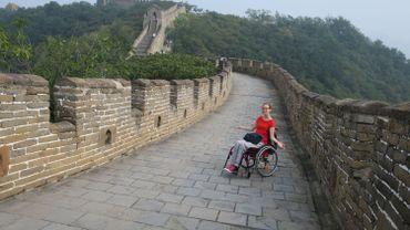 Blandine a fait le tour du monde en chaise roulante