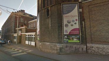 Tempête Ciara: une partie de la toiture de l'école Saint-Quirin menace de s'effondrer
