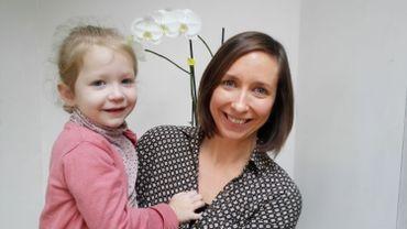 Céline et sa fille, Elise