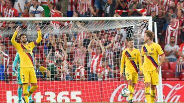 Le Barça chute d'entrée à Bilbao sur un bijou d'Aduriz