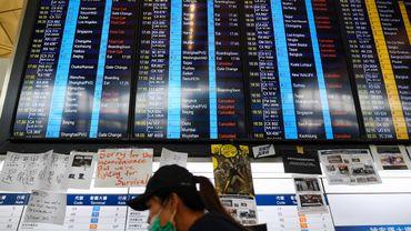L'aéroport de Hong Kong a pris lundi la décision rarissime d'annuler tous ses vols.