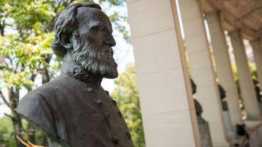 Le buste de Robert Lee sera retiré d'ici quelques jours.