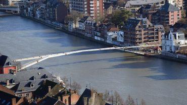 L'Enjambée devrait être mise en service fin octobre à Namur