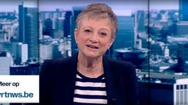 Depuis 42 ans, les téléspectateurs du JT de la VRT étaient accompagnés chaque soir par Martine Tanghe